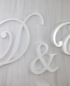 monogramy ślubne