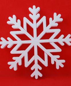 Śnieżynki, Gwiazdki styropianowe