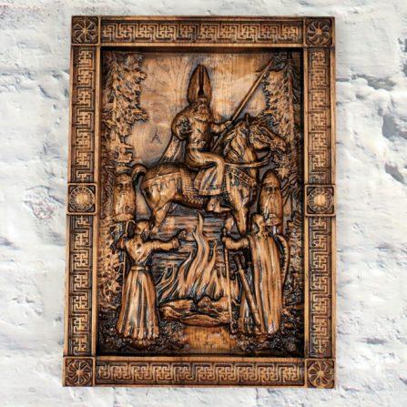 Płaskorzeźba - Mitologia słowiańska
